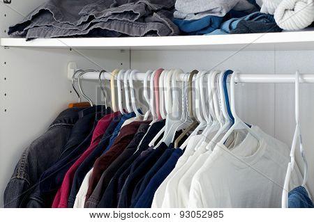 Looking Inside Closet