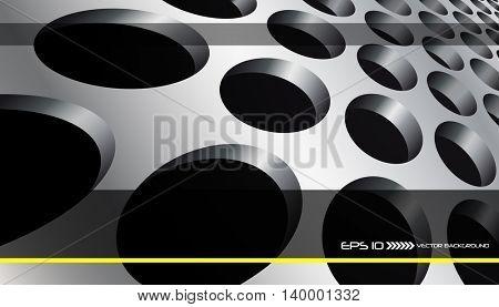 Vector abstract background, creative design