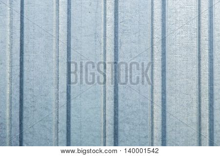 Corrugated metal sheet wall background wall texture