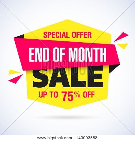 End of Month Sale banner