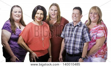 Confident Group Of Transgender People