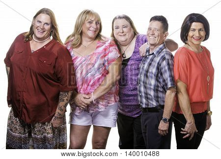 Happy Group Of Transgender People