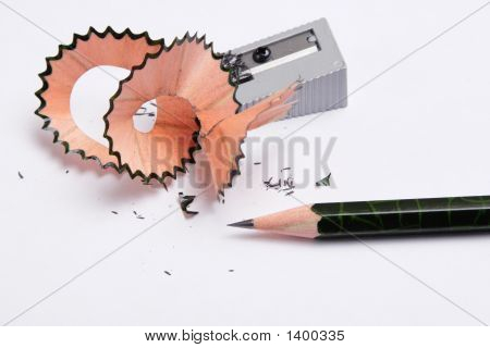 Pencil And Knife-Sharpener