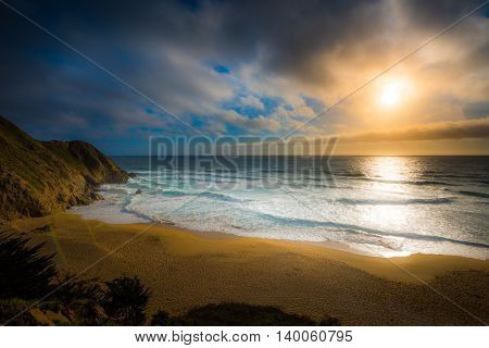 Gray Whale Cove Beach California