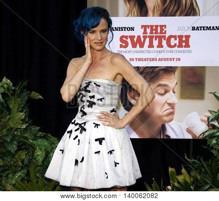 Juliette Lewis at the Los Angeles premiere of 'The Switch' held at the at the Cinerama Dome in Hollywood, USA on August 16, 2010.