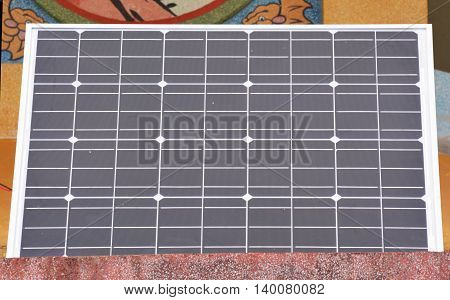 Solar Cell, close-up seamless texture of solar panel. Tiles as a pattern in any direction.