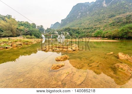 Ban gioc waterfall in Cao bang province, Vietnam