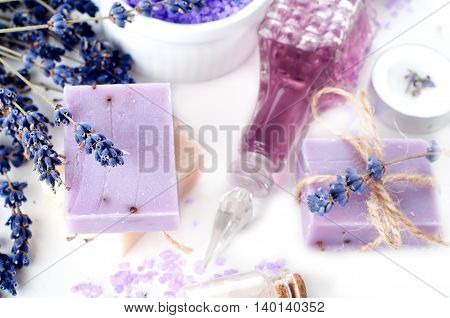 Spa Set With Lavender