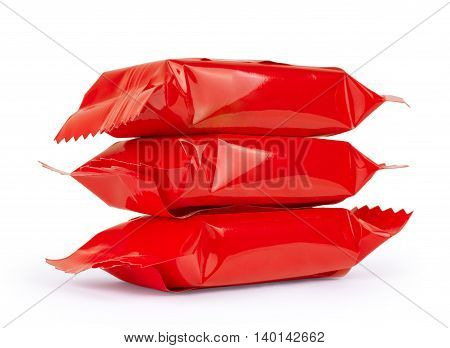 red candy wrapper bonbon, delicious, dessert, white, sweet,