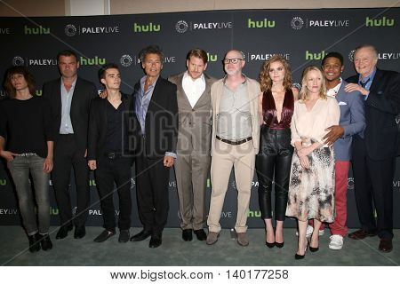 LOS ANGELES - JUL 26:  Ray Donovan Cast at the An Evening with