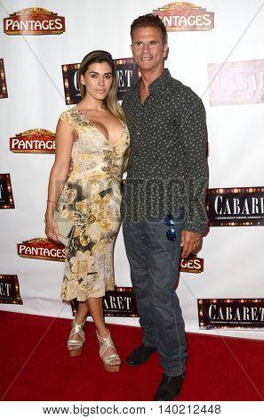 LOS ANGELES - JUL 20:  Shawna Craig, Lorenzo Lamas at the