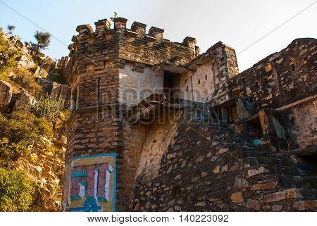 Wall. Elige, India.