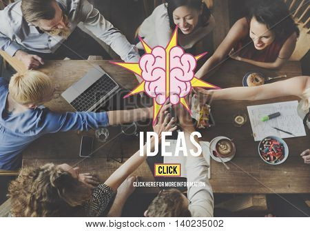 Ideas Mision Vision Strategy Concept