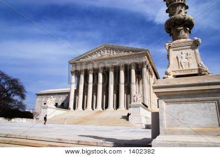 Supreme Court From Sidewalk
