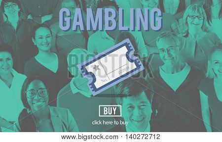 Gambling Betting Bet Jackpot Lottery Lucky Concept