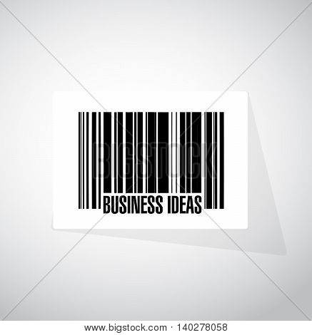 business ideas barcode sign concept illustration design graphic