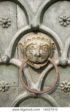 Detail of Venice iron door