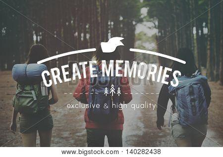 Create Memories Collection Recalling Concept