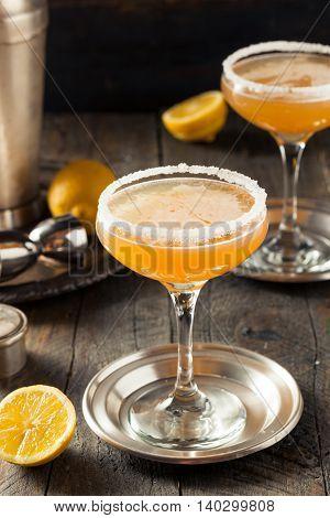 Refreshing Boozy Sidecar Cocktail