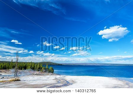 Yellowstone Lake Lakeshore