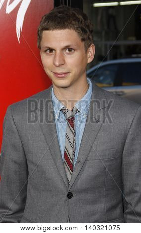 Michael Cera at the Los Angeles premiere of 'Scott Pilgrim vs. The World' held at the Grauman's Chinese Theater in Hollywood, USA on July 27, 2010.