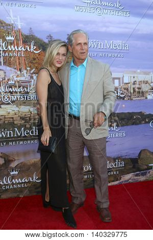 LOS ANGELES - JUL 27:  Lily Anne Harrison, Gregory Harrison at the Hallmark Summer 2016 TCA Press Tour Event at the Private Estate on July 27, 2016 in Beverly Hills, CA