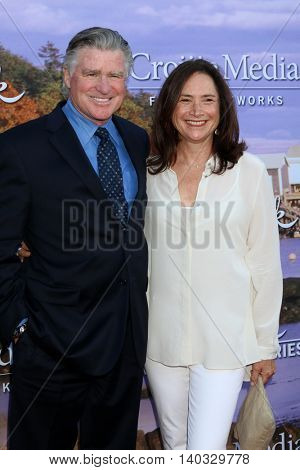 LOS ANGELES - JUL 27:  Treat Williams, guess at the Hallmark Summer 2016 TCA Press Tour Event at the Private Estate on July 27, 2016 in Beverly Hills, CA