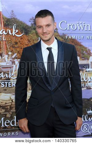 LOS ANGELES - JUL 27:  Nathan Keyes at the Hallmark Summer 2016 TCA Press Tour Event at the Private Estate on July 27, 2016 in Beverly Hills, CA