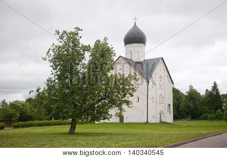 Veliky Novgorod. Russian Federation . Church of the Transfiguration of Our Savior of the 14th century.