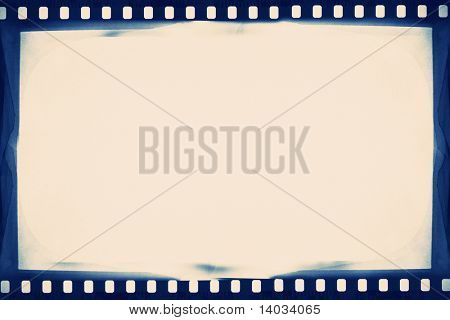 designed empty film strip background