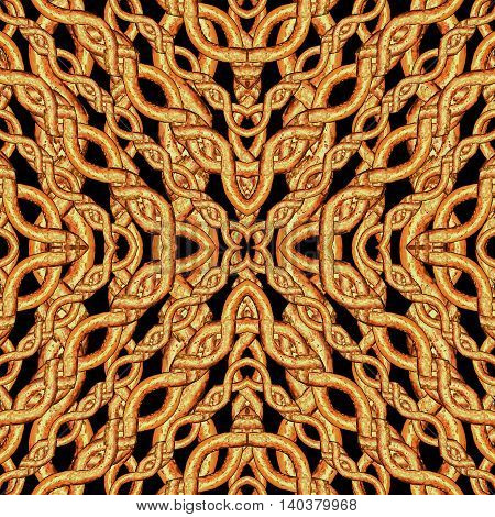 Mosaic Lace Seamless Pattern