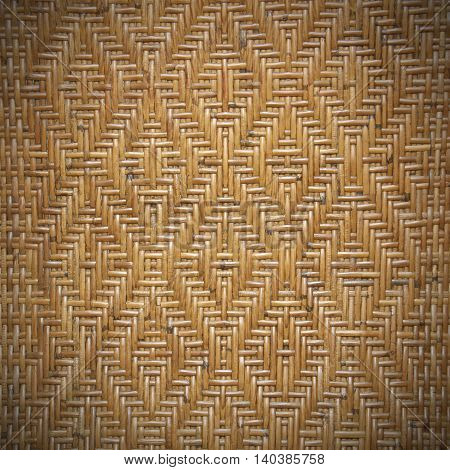 The Rattan detail for handmade on background