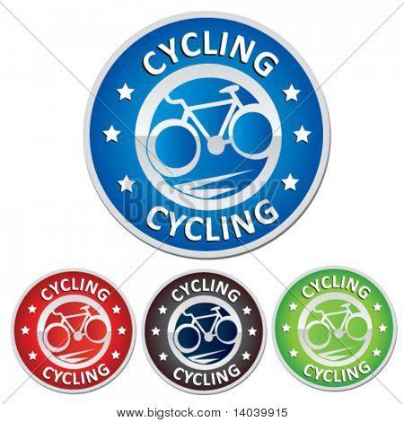 cycling badge