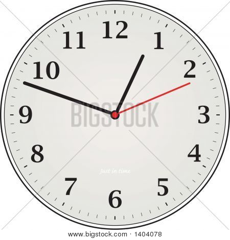 Clock Grey