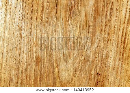Abstract Wooden Board Texture With Scratches.