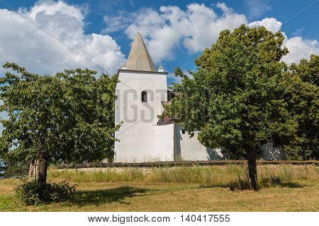 Romanesque-gothic Church In Sadok