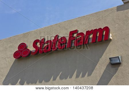 Las Vegas - Circa July 2016: State Farm Insurance Consumer Location. State Farm Offers Insurance and Financial Services I