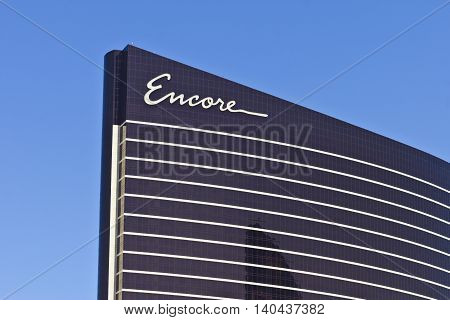 Las Vegas - Circa July 2016: Encore at Wynn Las Vegas on the Strip the Sister Resort of The Wynn Las Vegas I