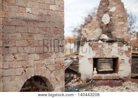 Buildings Destroyed By Bushfire