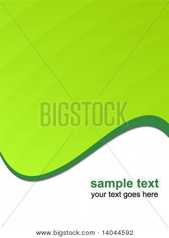 abstract light green background