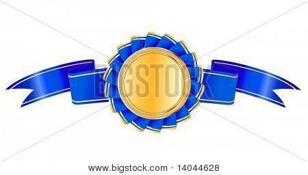 Medaglia premio vettoriale