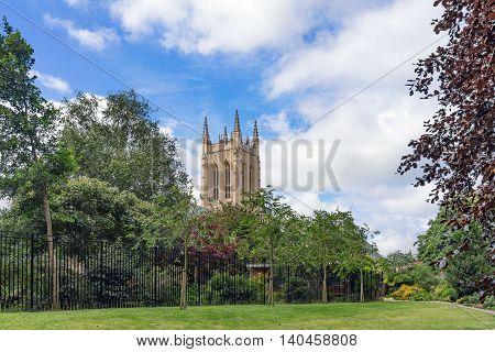 The Abbey Gardens in Bury St Edmunds, Suffolk.