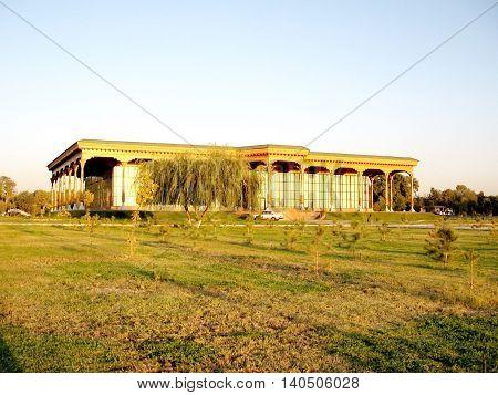 Tashkent Uzbekistan - September 26 2007: View of Exhibition Gallery.