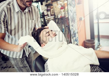 Traditional Ritual Of Shaving The Beard