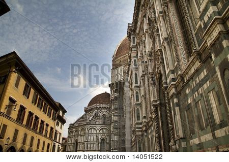 Duomo Cathedral Avenue Florence