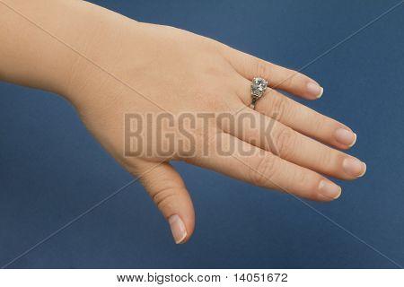 Engagement Ring Female Hand