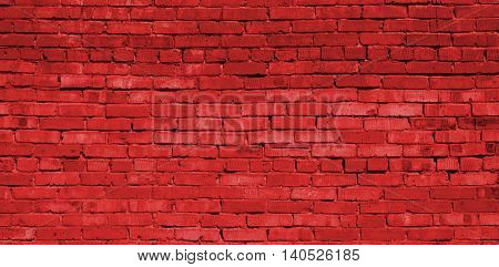Brickwork, brick, pattern of old brick surfaced, rough brick wall, brickwall, brick house, red brick, rouge