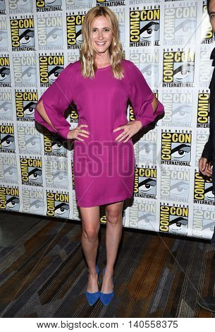 LOS ANGELES - JUL 22:  Megan Ketch arrives to the Comic Con 2016 - CBS PhotoCall on July 22, 2016 in San Diego, CA
