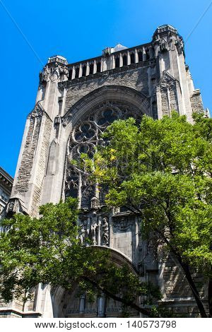 Church Of St. Vincent Ferrer In New York