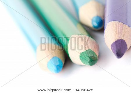 Crayons With Color